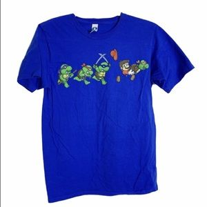woot Shirts - Woot TMNT mario mash up t shirt M  turtle theft